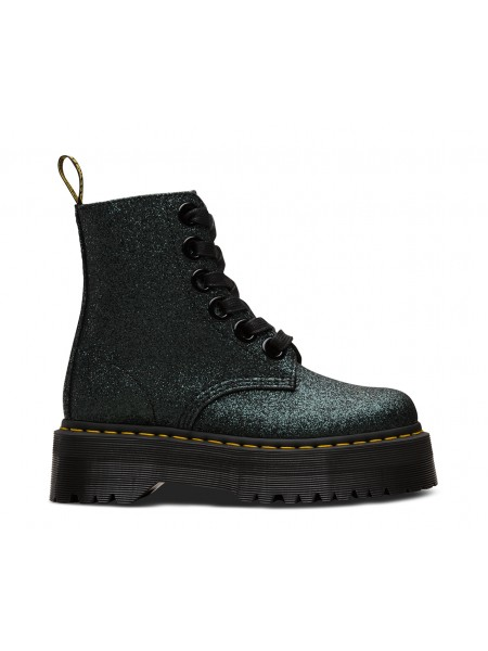 Anfibi Dr martens Donna Molly gltr Green/black