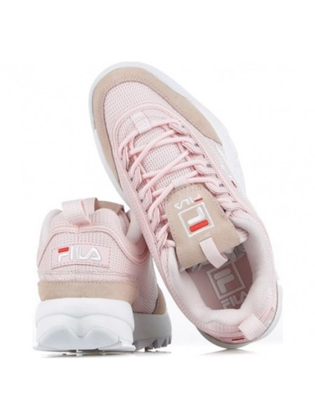 Sneakers Fila Donna Disruptor mesh low w Chalk pink