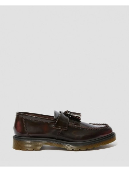 Mocassini Dr martens Unisex Adrian Cherry red