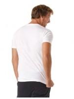 T-shirt New balance Uomo Mt01575 White