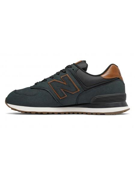 Sneakers New balance Uomo Ml574nbi Black