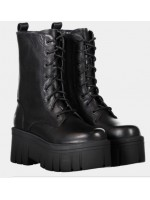 Anfibi Windsor smith Donna Stomp Black
