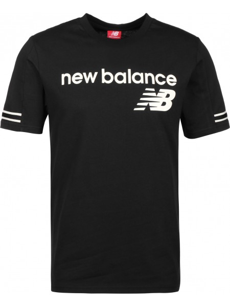 T-shirt New balance Uomo Mt91531 Black