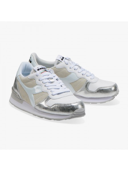 Sneakers Diadora Donna Camaro bling wn White/silver
