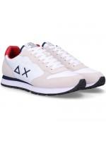Sneakers Sun68 Uomo Z30101 Bianco rosso