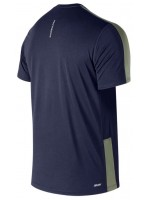 T-shirt New balance Uomo Mt73061 Blu
