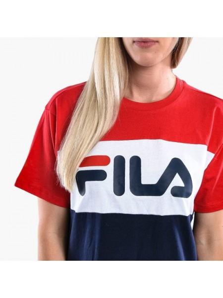 T-shirt Fila Donna 682125 Blu red whi