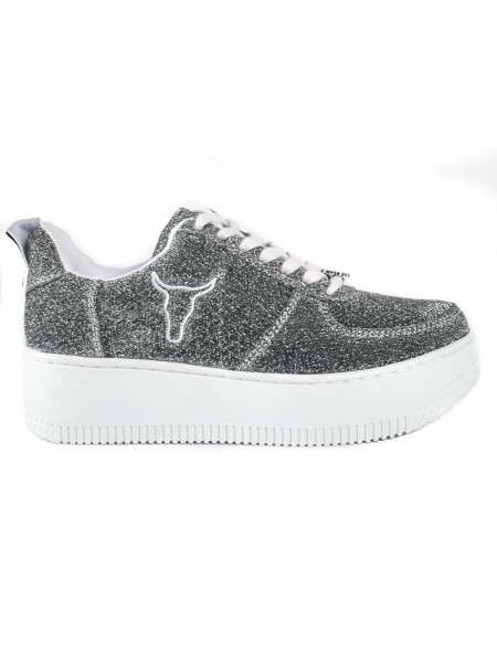Sneakers Windsor smith Donna Racerr Silvlurwht