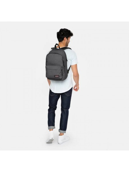 Zaini Eastpak Unisex Ek936 back to work Black denim