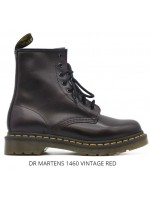 Anfibi Dr martens Unisex 1460 w Nappa red