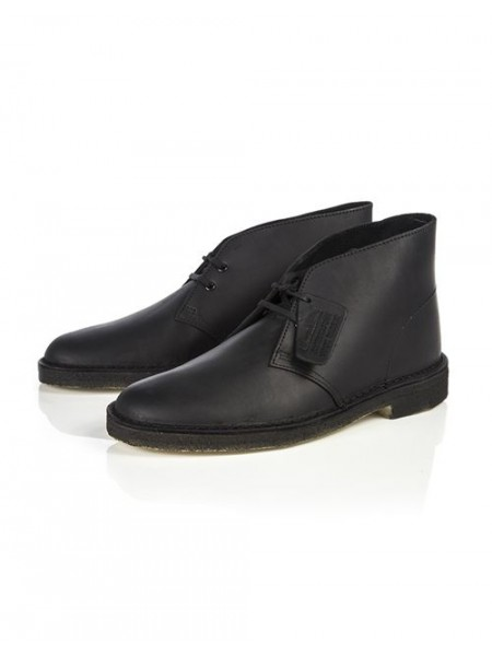 Polacchine Clarks Uomo Desert boot Black leathe