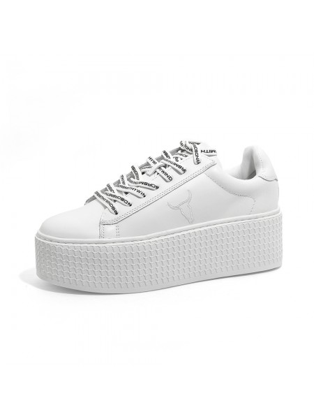 Sneakers Windsor smith Donna Seoul Bianco