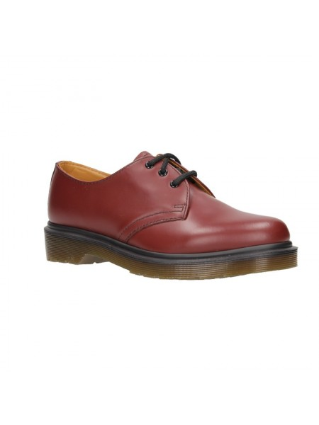 Stringate Dr martens Unisex 1461 pw Cherry red