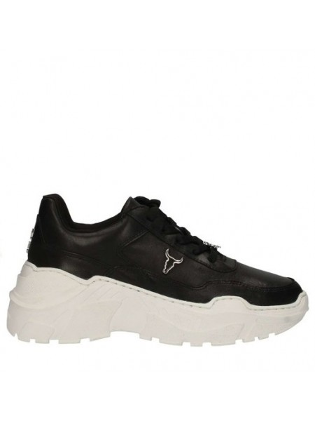 Sneakers Windsor smith Donna Carte Blk/wht