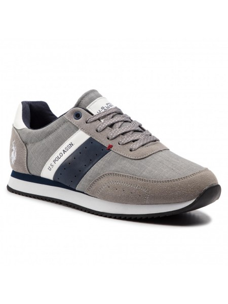 Sneakers U.s. polo assn. Uomo Tibery Grey